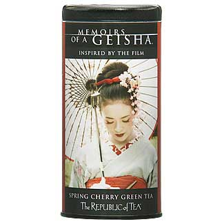 If a geisha was tea she'd taste like a dirty cherry?