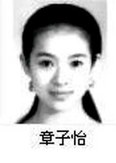 Zhang Ziyi's ID photo