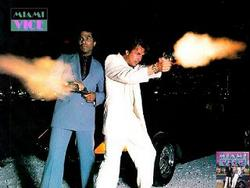 the MIAMI VICE shoot is in trouble