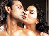 Ashmit Patel, and Pakistani actress Meena star in NAZAR, a Bollywood version of THE EYES OF LAURA MARS