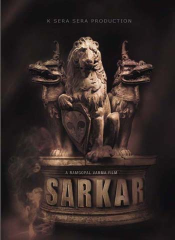 Official poster for Ram Gopal Varma's SARKAR