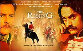 Aamir Khan's anitcipated Bollywood epic, THE RISING